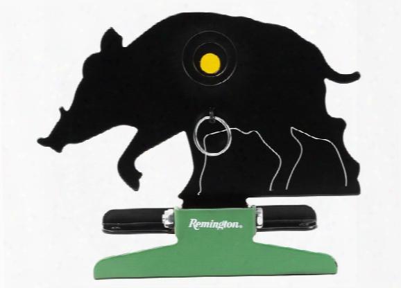 Remington Knockdown Target, Wild Hog, Manual Reset, 2 Kill-zone Reducers