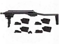 Umarex T.a.c. Converter, 4 Adapters, Folding Grip & Stock, Fits Select Airsoft & Bb Guns