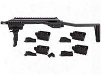 Umarex T.a.c. Converter, 4 Adapters, Folding Grip & Stock, Fits Select Airsoft & Bb Guns