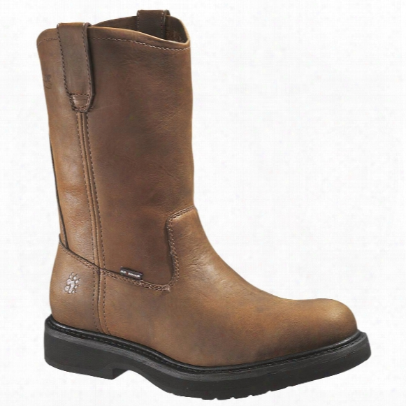 "10"" Wolverine® Durashocks® Outside Heel Wellingtons, Dark Brown"