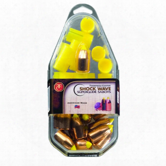15 - Pk. Thompson / Center® .50 Caliber Super Lapse Sabots, 250 - Gr. Shockwave Bullet