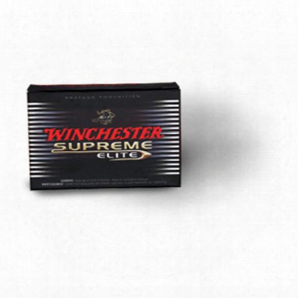 """5 Rds. Winchester 12 Gauge 3"""" Supreme Elite Extended Range Hi Density Loads"""