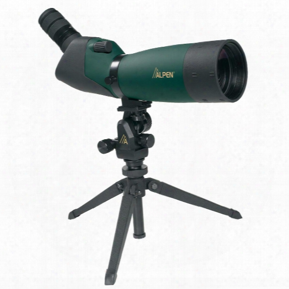 Alpen 20-60x80mm Waterproof Spotting Scope With 45 Degree Eyepiece