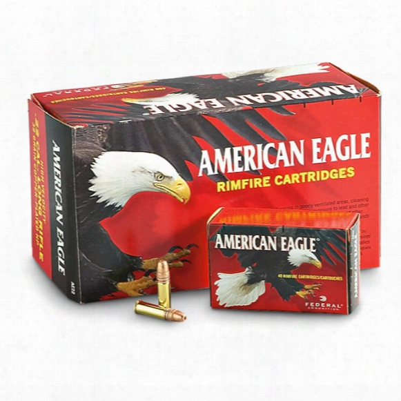 American Eagle, .22lr, Copper-plated Hp, 38 Grain, 400 Rounds