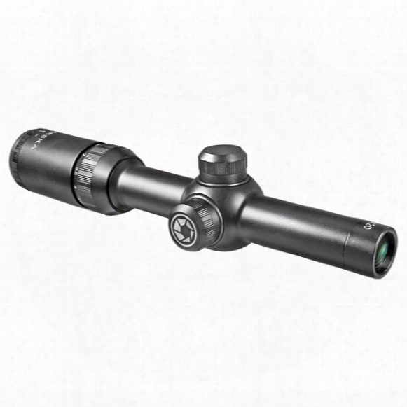 Barska 1.5-4.5x20 Mm Tactical Rifle Scope, Mmatte Black