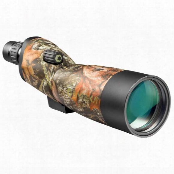 Barska 20-60x60mm Waterproof Camo Blackhawk Spotting Scope