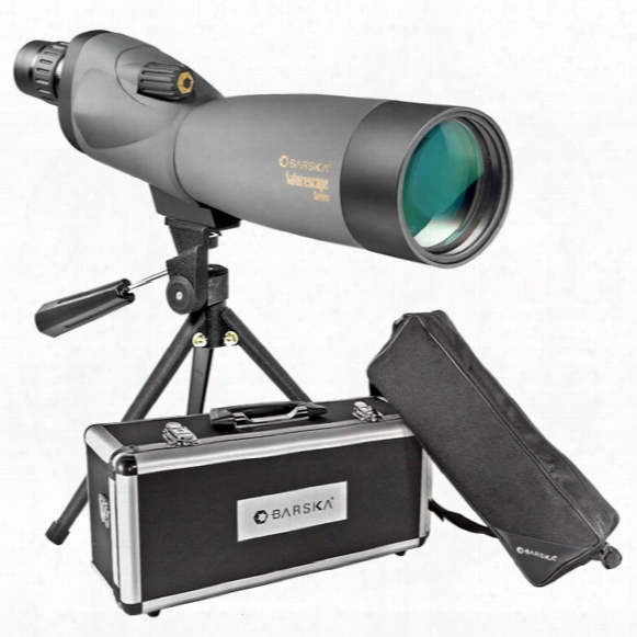 Barska 20-60x60mm Waterproof Naturescape Spotting Scope