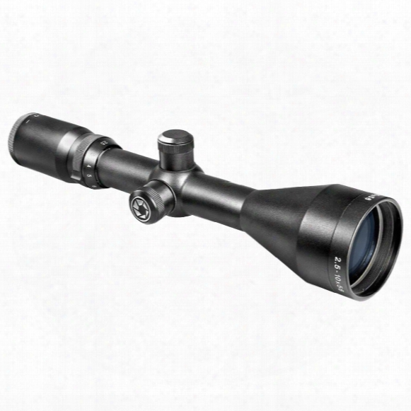 Barska 2.5-10x56 Mm Euro-30 Rifle Scope, Matte Black