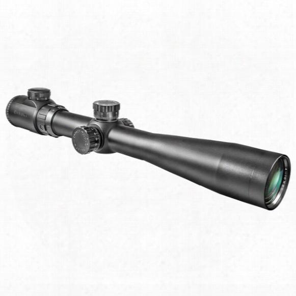 Barska 3.5-10x40 Mm Ir Swat Tactical Rifle Scope, Matte Black