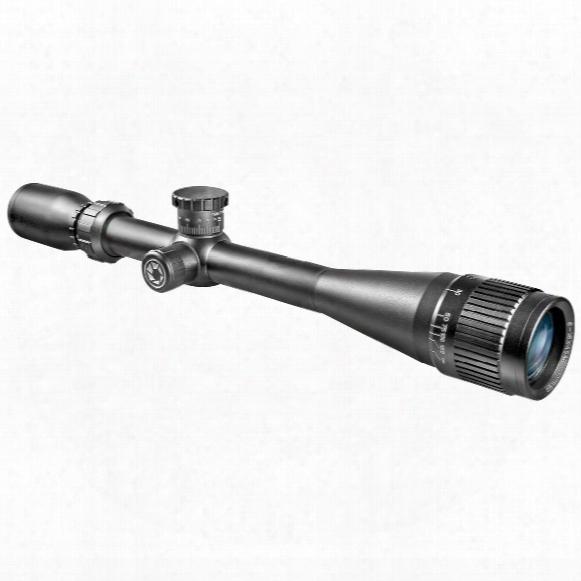 Barska 6-18x40 Mm Ao .17 Hot Magnum Rifle Scope, Matte Black