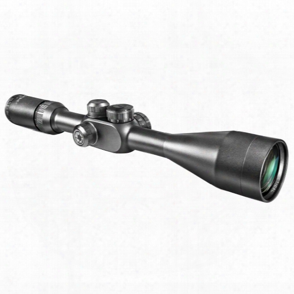 Barska 6-20x50 Mm Ir Tactical Rifle Scope, Matte Black