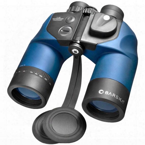 Barska 7x50mm Waterproof Deep Sea Binoculars With Directional Compass