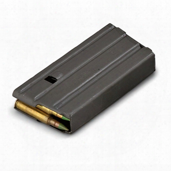 Brownells Ar-15/m16 Military Spec Magazine, Black, 20 Rounds