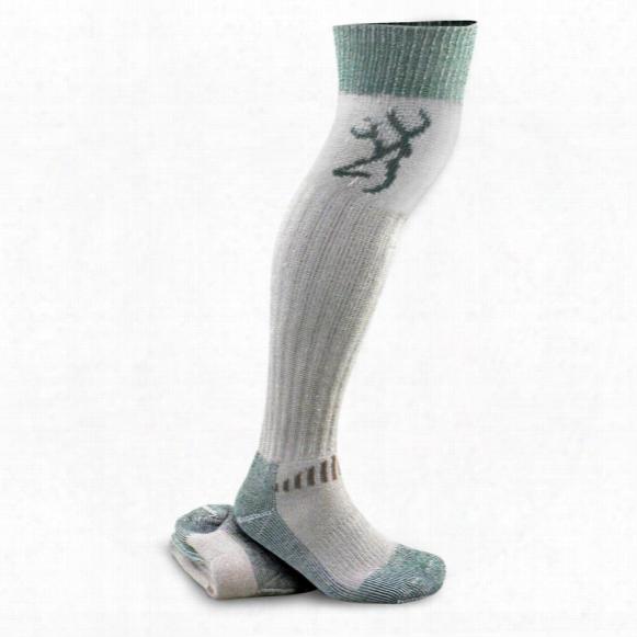 "Browning 26"" Merino Wool-blend Wader Socks, 2 Pairs"
