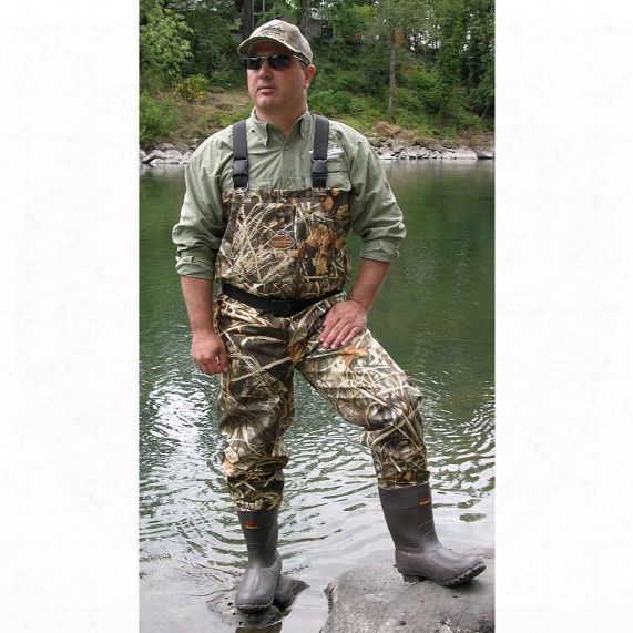 Caddis® 1,000 Gram Thinsulate Insulation Bootfoot Max4 Breathable Waders