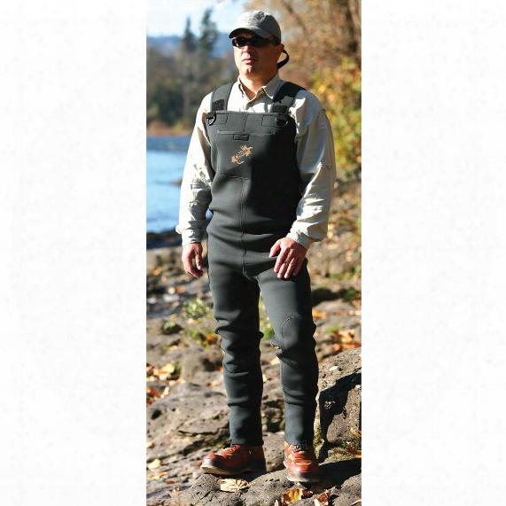 Caddis® Neoprene Stocking Foot Chest Waders, Regular