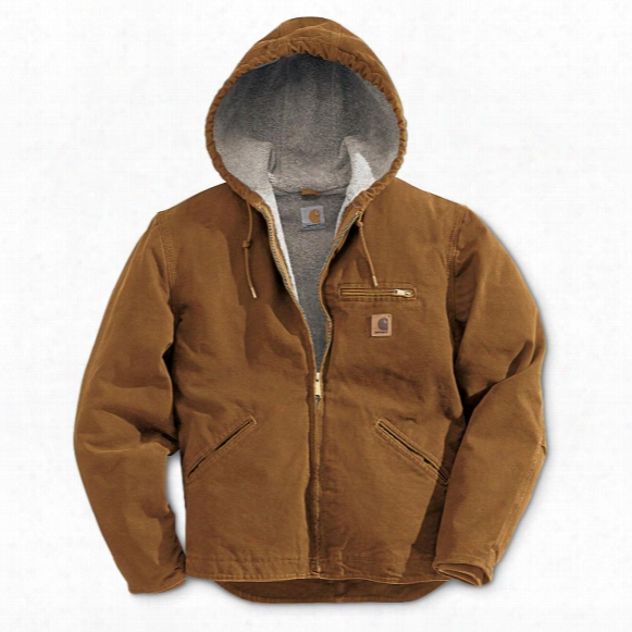 Carhartt® Sandstone Sierrra Hooded Jacket
