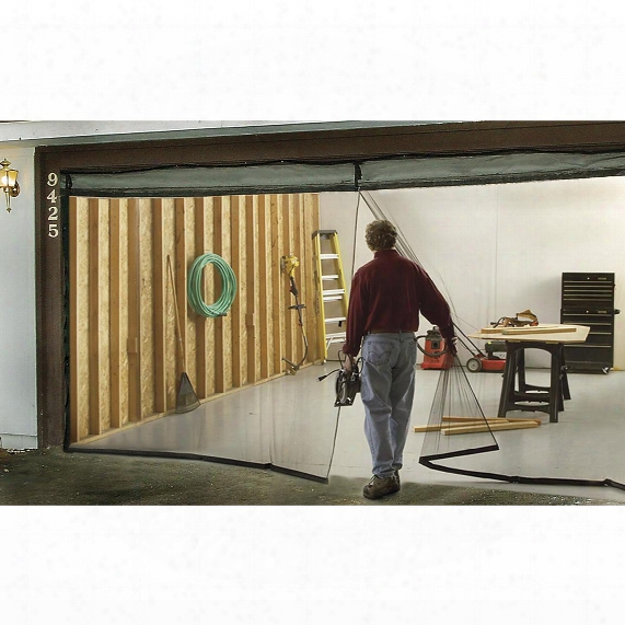 Double Garage Door Screen, 7'x16'