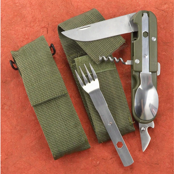 European-style 5-in-1 Chow Set, 2 Pack, New