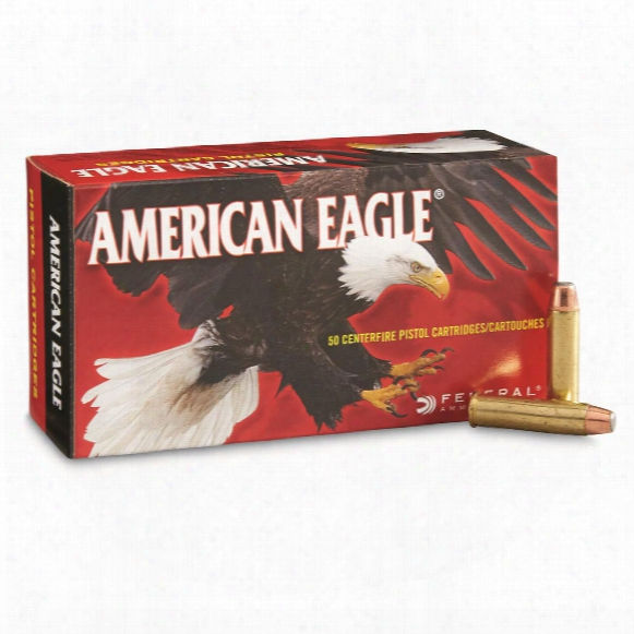 Federal American Eagle Pistol, .327 Federal, Jsp, 100 Grain, 50 Rounds