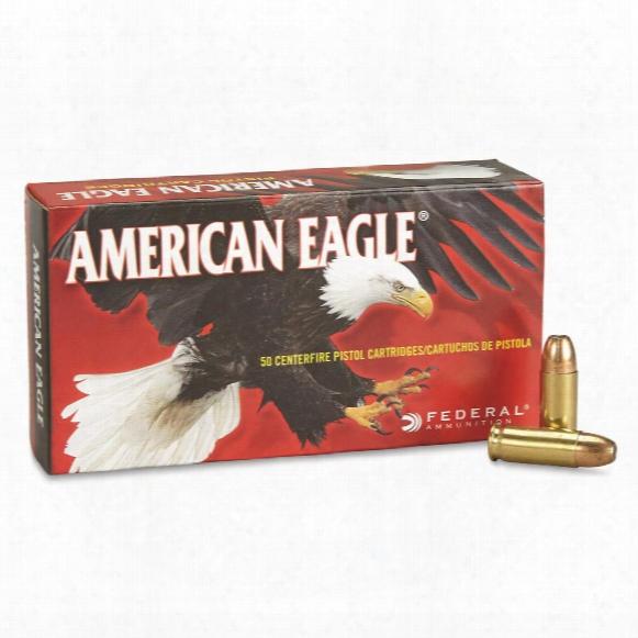 Federal, American Eagle Pistol, .38 Super +p, Jhp, 115 Grain, 50 Rounds