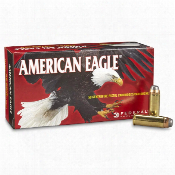 Federal American Eagle Pistol, .45 Long Colt, Jsp, 225 Grain, 50 Rounds