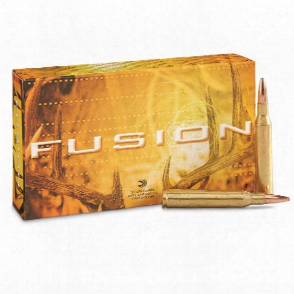 Federal Fusion, .25-06 Remington, Sp, 120 Grain, 20 Rounds