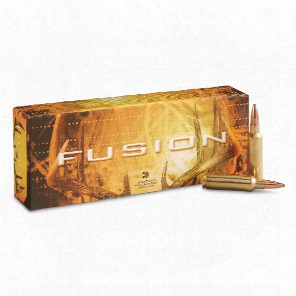 Federal Fusion, .300 Winchester Short Magnum, Bt, 150 Grain, 20 Rounds