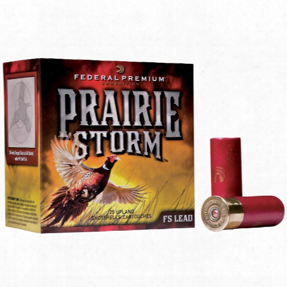 "Federal Premium Prairie Storm 12 Gauge 2 3/4"" 1 1/4 Ozs. 25 Rounds"