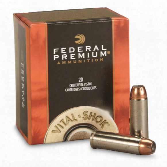 Federal, Vital-shok, Swift A-frame, .41 Rem Mag, 210 Grain, 20 Rounds