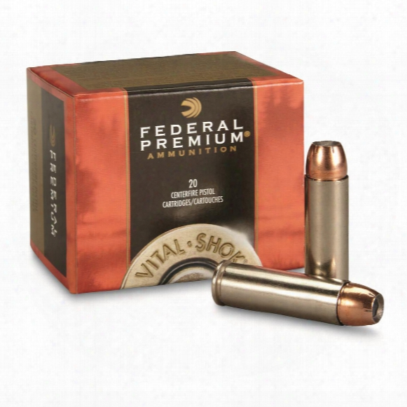 Federal Vital-shok Swift A-frame, .500 S&w, 325 Grain, 20 Rounds