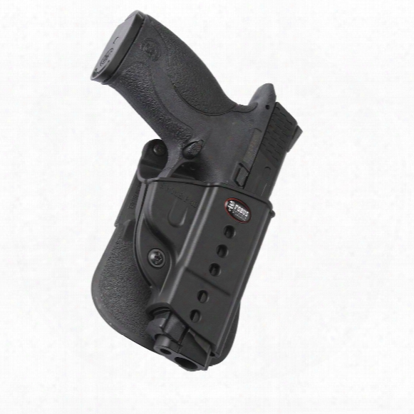 Fobus S&w M&p Evolution Paddle Holster With Double Mag Pouch