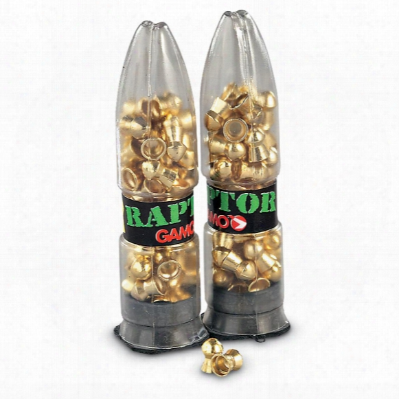 Gamo Raptor Pba Air Rifle Pellets, .177 Caliber, 5.4 Grain, 100 Pack