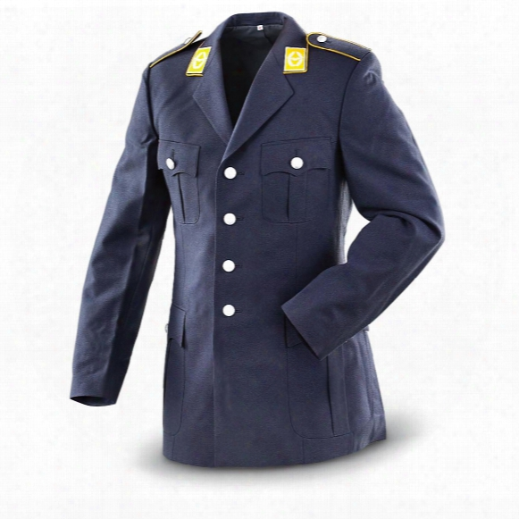 German Military Surplus Air Force Dress Jackets, 2 Pack, New