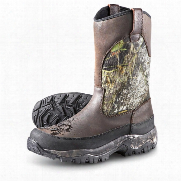 Guide Gear Men's Hunting Pull-on Boots, Insulated, Waterproof