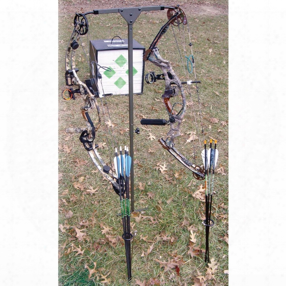 Hme Archer's Practice Bow Hanger And Arrow Holder