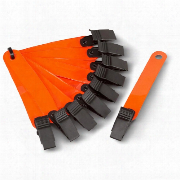 "Hme Products 3"" Trail Markers, Orange, 10 Pack"