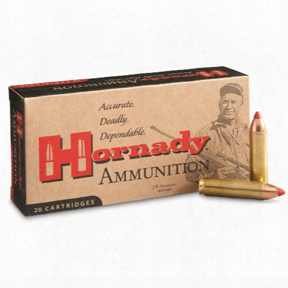 Hornady Interlock Rifle, .450 Bushmaster, Ftx, 250 Grain, 20 Rounds