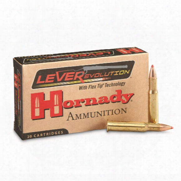 Hornady Leverevolution, .30-30 Winchester, Ftx, 140 Grain, 20 Rounds