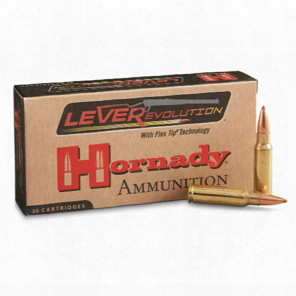 Hornady Leverevolution, .338 Mariln Express, Ftx, 200 Grain, 20 Rounds