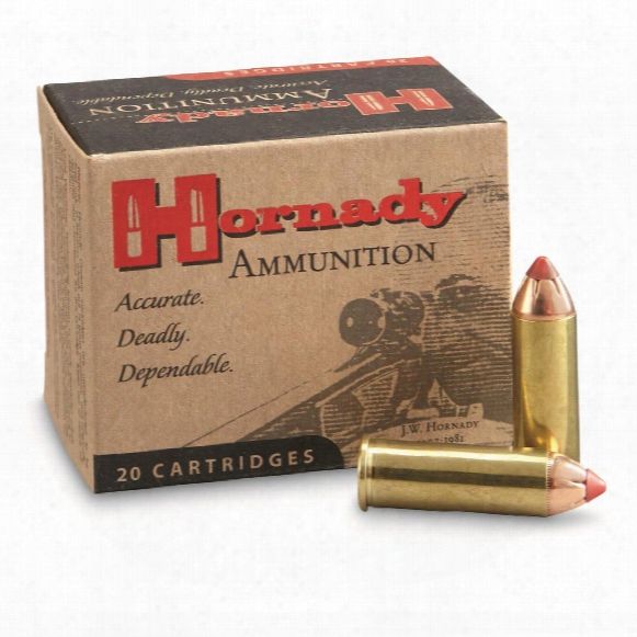 Hornady Leverevolution, .44 Magnuml, Ftx Flex Tip, 225 Grain, 20 Rounds