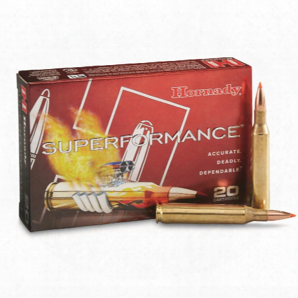 Hornady Superformance, .25-06 Remington, Sst, 117 Grain, 20 Rounds