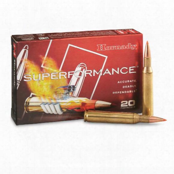 Hornady Superformance, .270 Winchester, Sst, 140 Grain, 20 Rounds