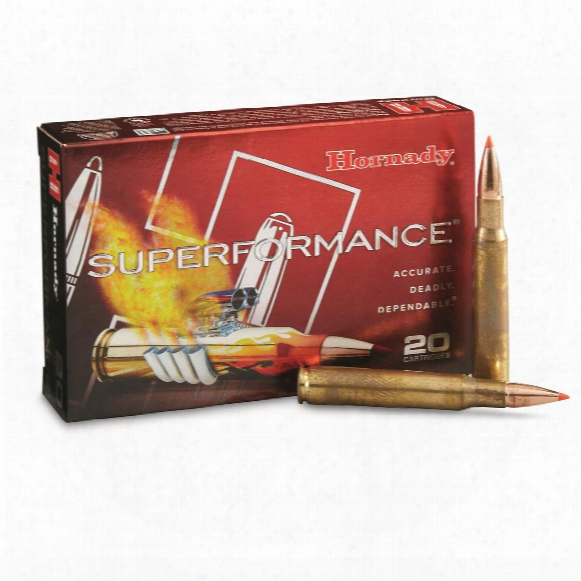 Hornady Superformance, .30-06 Springfield, Gmx, 150 Grain, 20 Rounds