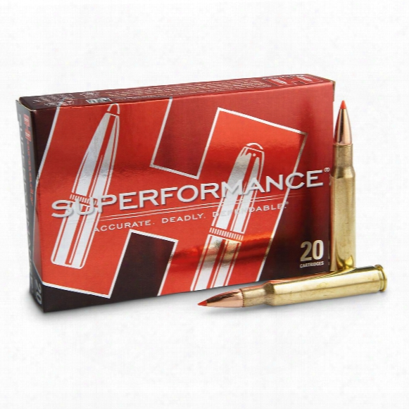 Hornady Superformance, .30-06 Springfield, Sst, 180 Grain, 20 Rounds