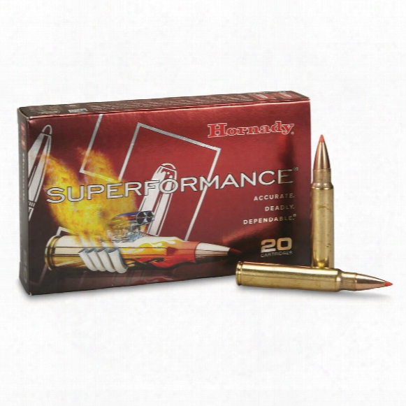 Hornady Superformance, .300 Winchester Magnum, Sst, 180 Grain, 20 Rounds