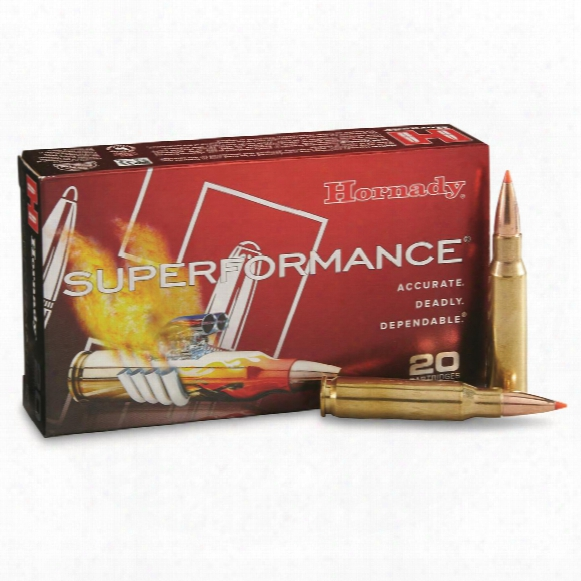 Hornady Superformance, .308 Winchester, Gmx, 165 Grain, 20 Rounds