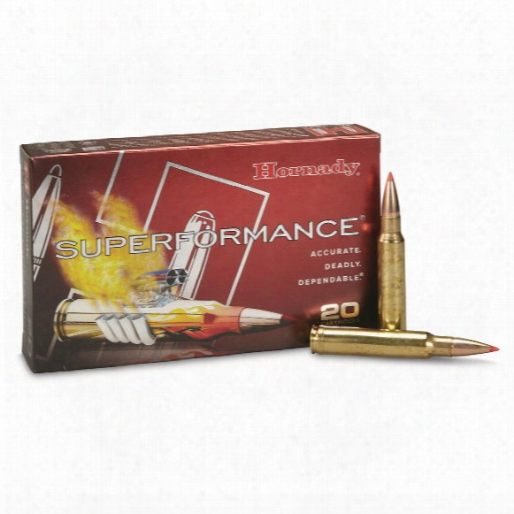Hornady Superformance, .338 Winchester Magnum, Gmx, 185 Grain, Lead-free, 20 Round