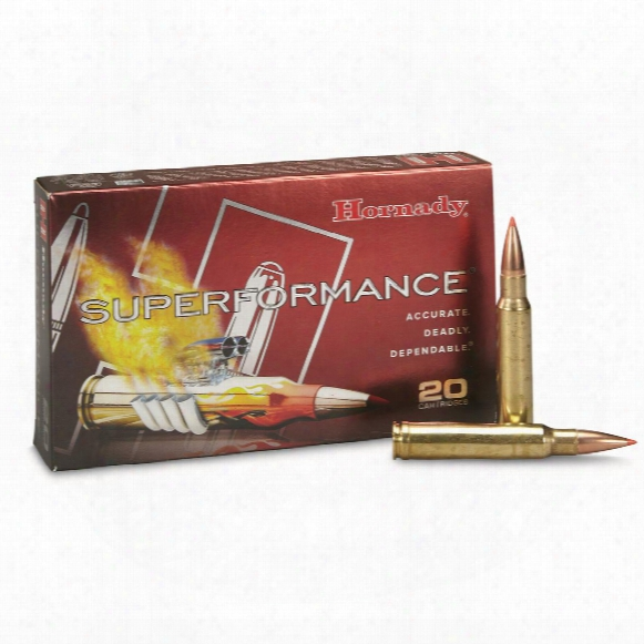 Hornady Superformance, .338 Winchester Magnum, Sst, 225 Grain, 20 Rounds