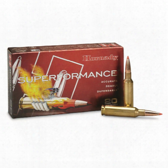 Hornady Superformance, 6.5 Creedmoor, Gmx,1 20 Grain, 20 Rounds